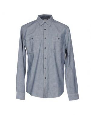 Джинсовая рубашка DOCKERS. Цвет: синий