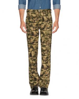 Повседневные брюки WHITE MOUNTAINEERING. Цвет: зеленый-милитари
