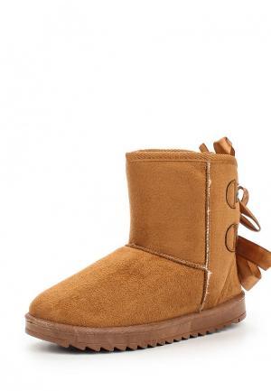 Полусапоги WS Shoes. Цвет: коричневый