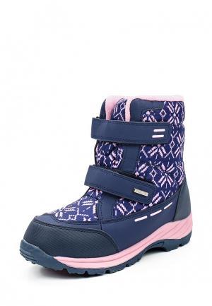 Ботинки Ulёt. Цвет: синий