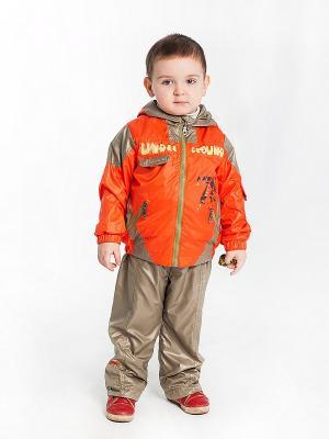 Комплект Мэтью Аксарт. Цвет: оранжевый, светло-коричневый