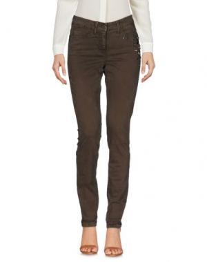 Повседневные брюки CAMBIO. Цвет: темно-коричневый