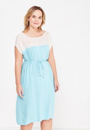 Платье Relax Mode. Цвет: голубой