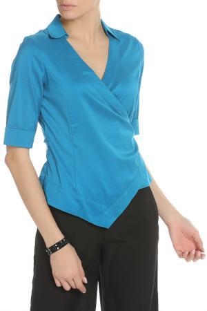 Рубашка Caractere. Цвет: темно-синий