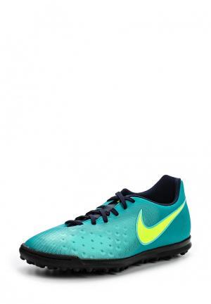 Шиповки Nike. Цвет: бирюзовый