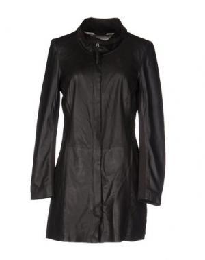 Легкое пальто FREAKY NATION. Цвет: темно-коричневый