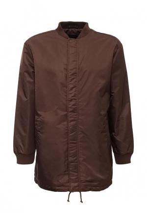 Куртка утепленная ADPT. Цвет: коричневый