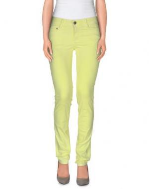 Повседневные брюки CIMARRON. Цвет: желтый