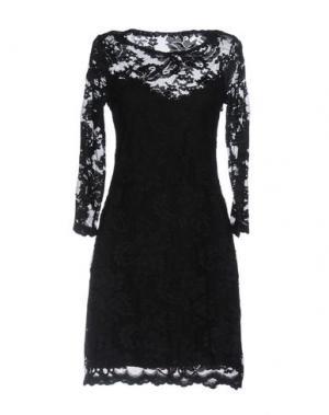 Короткое платье OLVI'S. Цвет: черный
