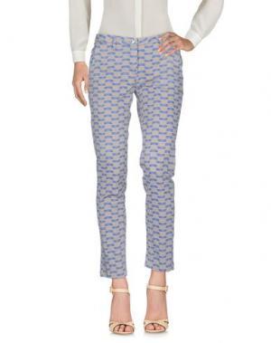Повседневные брюки SHAFT DELUXE. Цвет: хаки