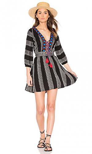 Платье ramones PIPER. Цвет: черный
