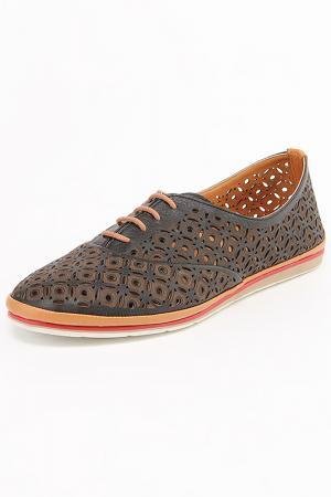 Туфли MARE ANDI. Цвет: черный, коричневый