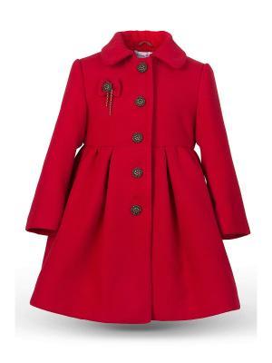 Пальто Грета Alisia Fiori. Цвет: темно-красный, бронзовый, красный, черный