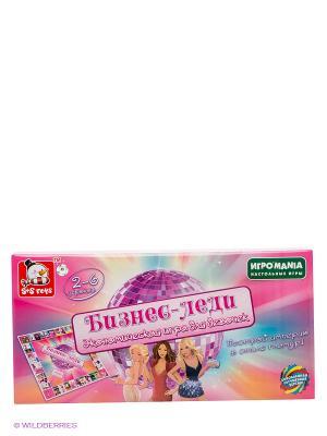 Монополия для девочек Бизнес-Леди S-S. Цвет: розовый