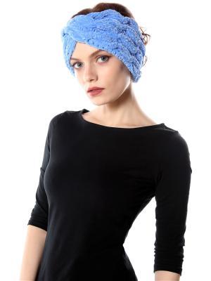 Повязка на голову Косы SEANNA. Цвет: голубой