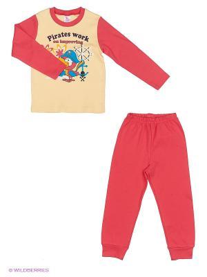 Пижама PEPELINO. Цвет: красный