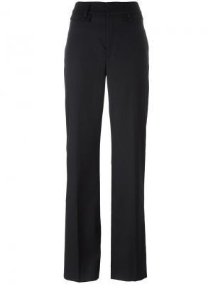 Расклешенные брюки свободного кроя Dondup. Цвет: синий