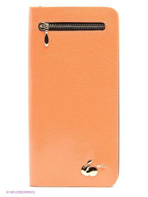 Кошелек WB. Цвет: оранжевый