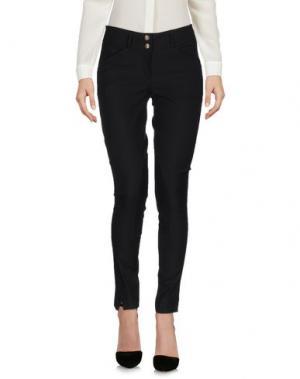 Повседневные брюки HERITAGE. Цвет: черный