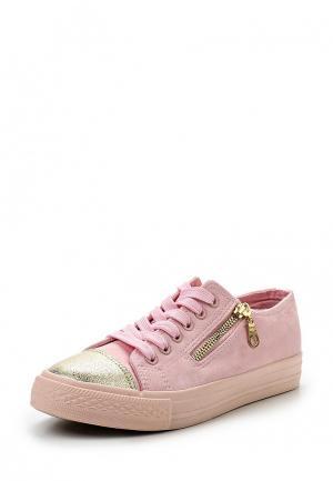 Кеды Girlhood. Цвет: розовый