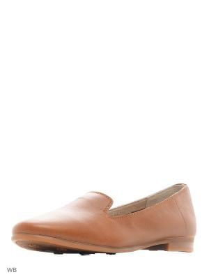 Туфли HCS. Цвет: коричневый
