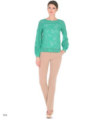 Блузка ELNY. Цвет: светло-зеленый