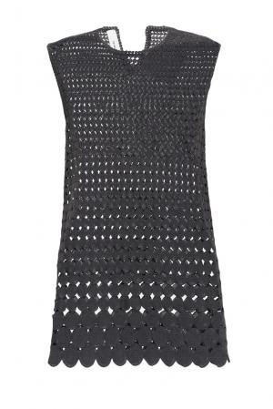 Платье из хлопка 161050 Un-namable. Цвет: серый
