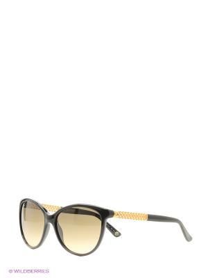 Солнцезащитные очки GUCCI. Цвет: черный