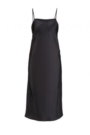 Платье-комбинация из вискозы 187011 Cyrille Gassiline. Цвет: черный