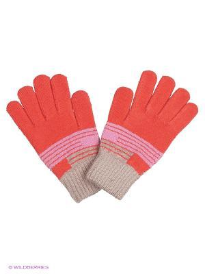 Перчатки United Colors of Benetton. Цвет: бронзовый