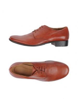 Обувь на шнурках 01000010 by BOCCACCINI. Цвет: кирпично-красный