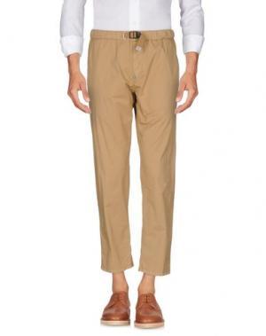 Повседневные брюки WHITE SAND 88. Цвет: песочный