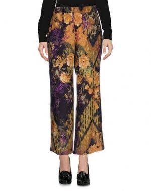 Повседневные брюки AGNESE GALLAMINI. Цвет: охра