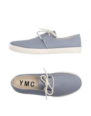 Низкие кеды и кроссовки YMC YOU MUST CREATE. Цвет: серый