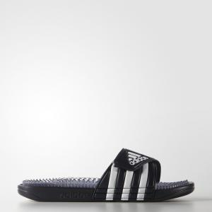 Шлепанцы Santiossage QD  Performance adidas. Цвет: белый