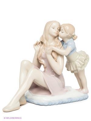 Статуэтка Мать с дочерью Pavone. Цвет: бежевый, бледно-розовый