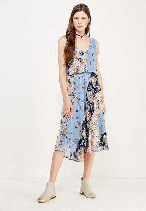 Платье Pepe Jeans. Цвет: разноцветный