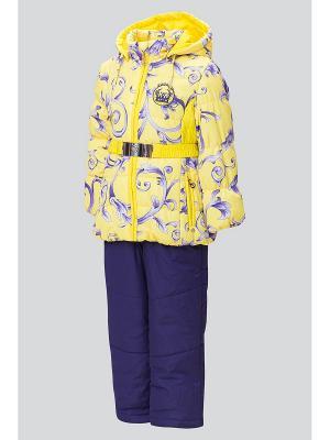 Комплект одежды Steen Age. Цвет: желтый