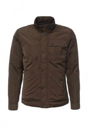 Куртка утепленная Burton Menswear London. Цвет: коричневый