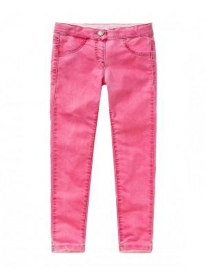 Джинсы United Colors of Benetton. Цвет: бледно-розовый, розовый, лиловый