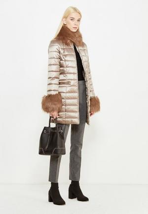 Куртка утепленная Liu Jo. Цвет: коричневый
