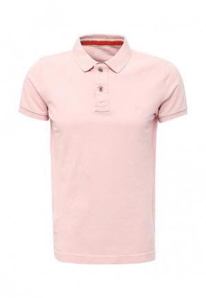 Поло Colins Colin's. Цвет: розовый