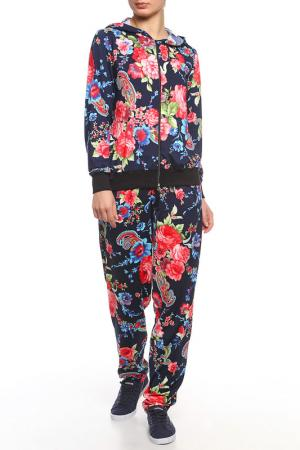 Костюм: брюки, толстовка Веста. Цвет: розовый