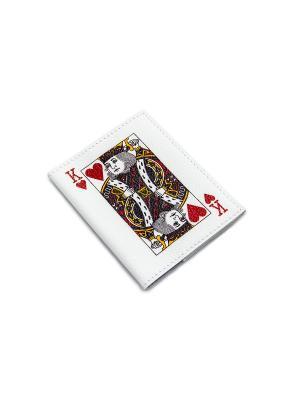 Обложка для автодокументов Кажан. Цвет: белый