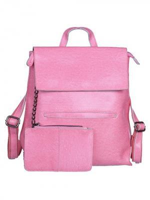Рюкзак женский с регулируемыми лямками. City Flash. Цвет: розовый