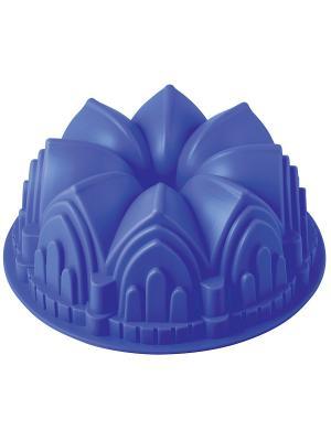 Форма для выпечки Regent inox. Цвет: синий