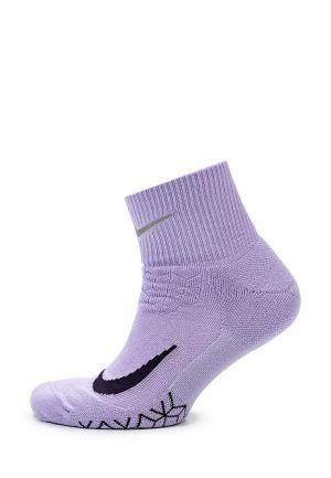 Носки Nike. Цвет: фиолетовый
