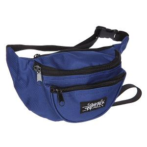 Сумка поясная  Waistbag navy Anteater. Цвет: синий
