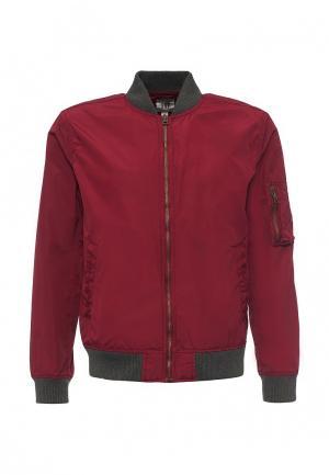 Куртка Gap. Цвет: бордовый