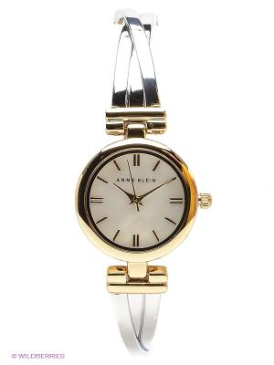 Часы ANNE KLEIN. Цвет: серебристый, золотистый